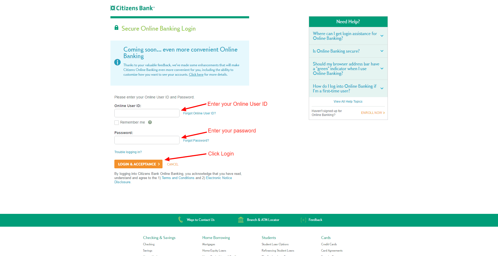 Com Www citizensbank creditcard