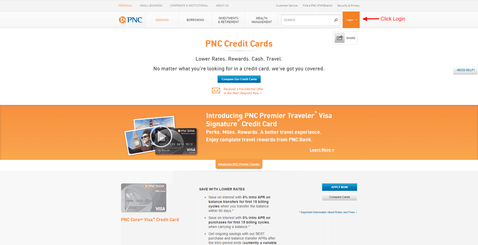 PNC Credit Card Online login - 🌎 CC Bank