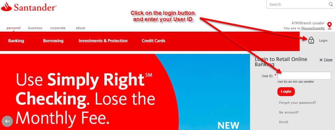 Santander bank online banking login cc bank 1 santander reheart Gallery