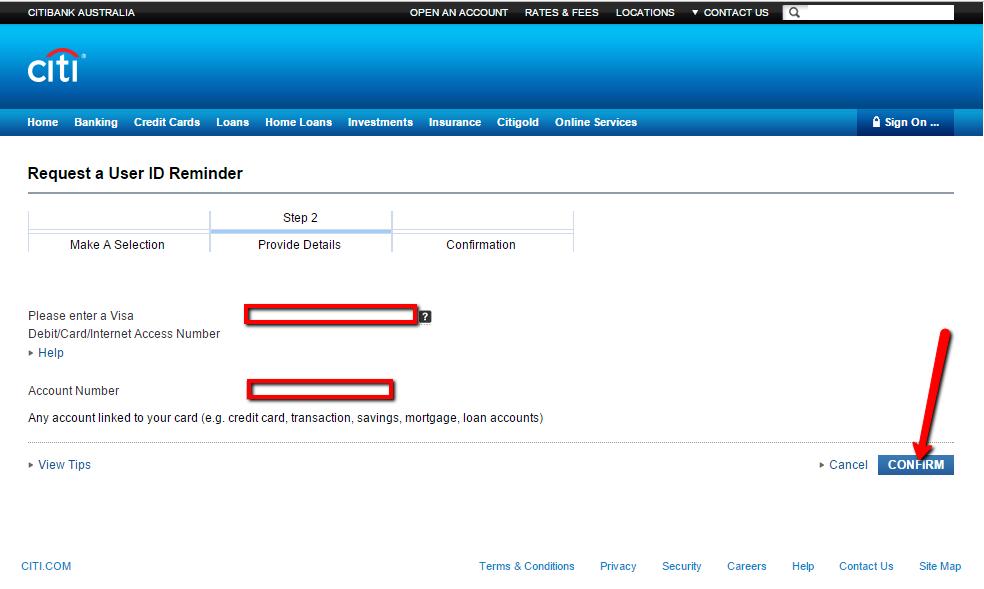Citibank Account Online >> Citibank Australia Online Banking Login - CC Bank