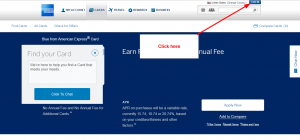American Express Blue Card Login