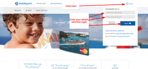Carnival Cruises Credit Card Online