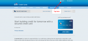 Citi Secured Mastercard Login