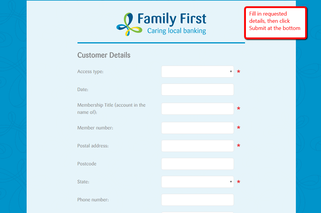 how to open a credit union account online