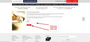 William sonoma credit card customer service
