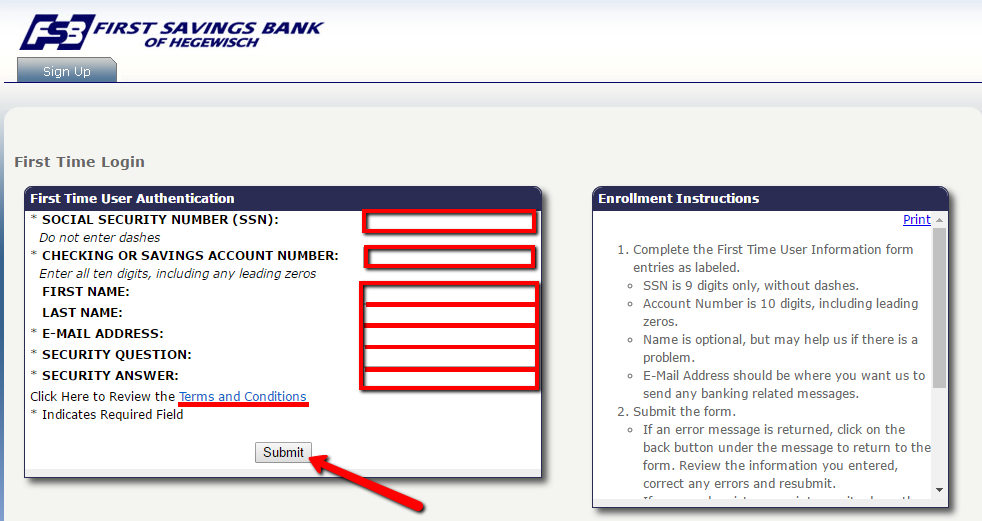 First Savings Bank Of Hegewisch Online Banking Login Cc Bank