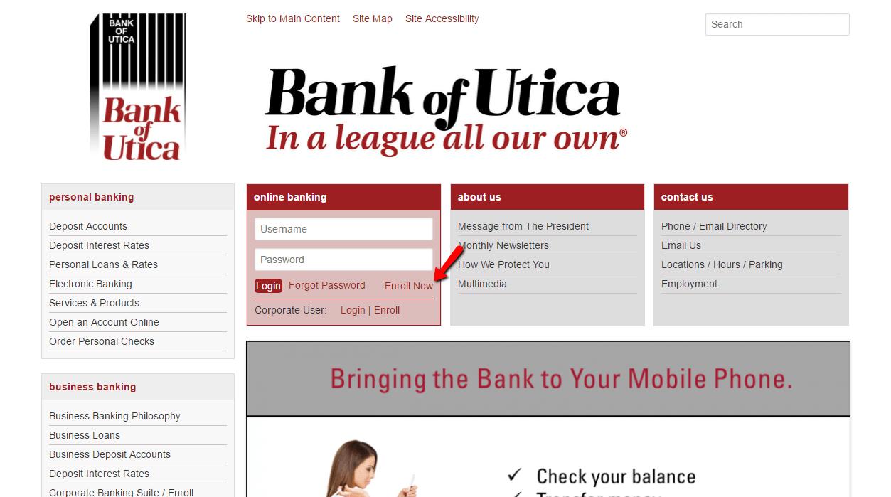 bank deposits electronic banking
