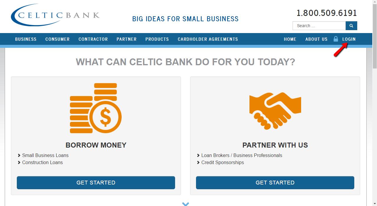 Celtic Bank Online Banking Login