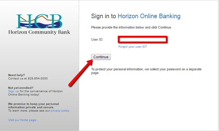 Horizon Community Bank Online Banking Login - 🌎 CC Bank