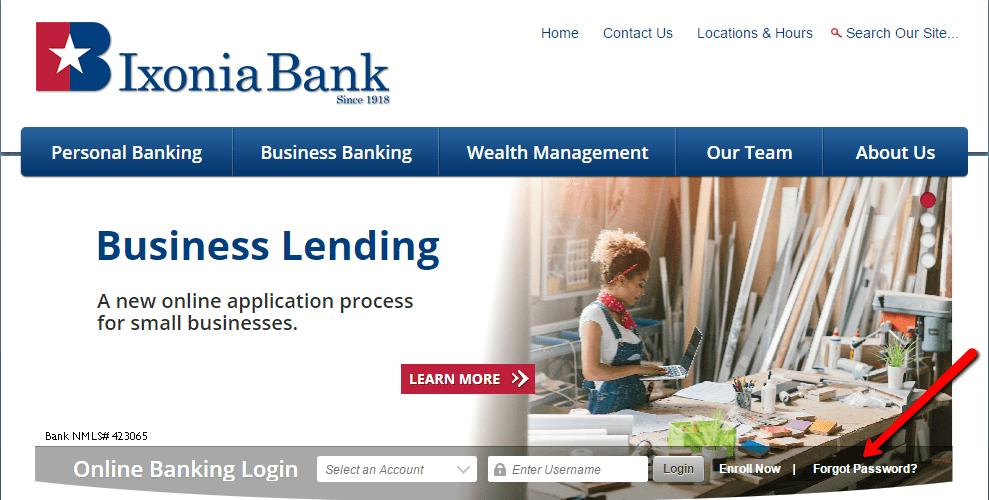 Ixonia Bank Online Banking Login