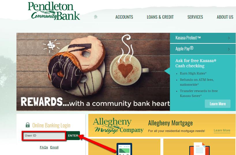 community bank pendleton