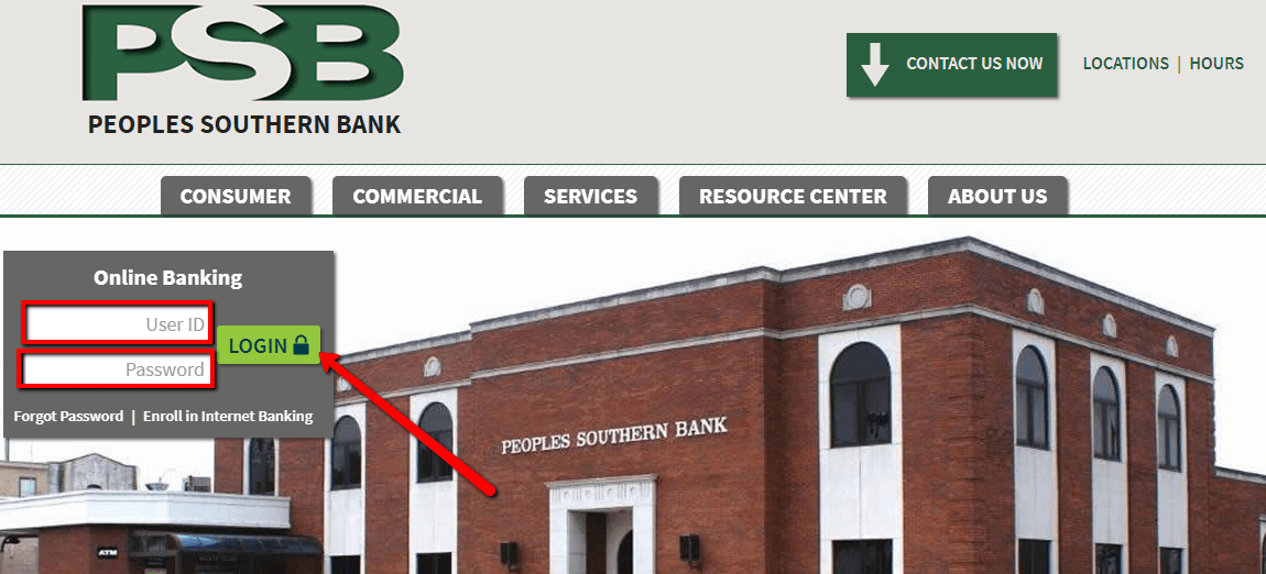 login bank banking southern peoples verification allowed