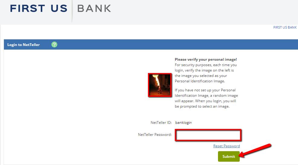 First US Bank Online Banking Login