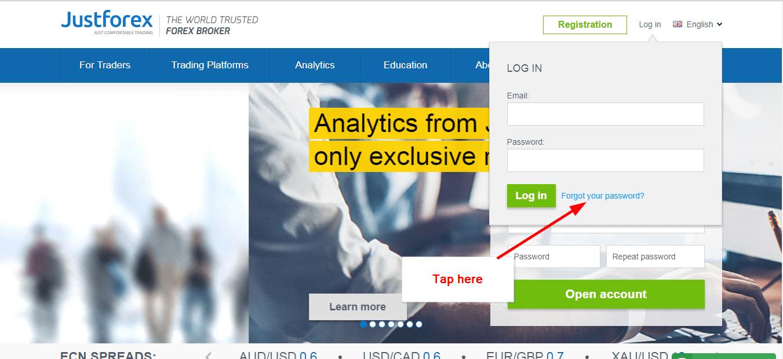 Forex online login