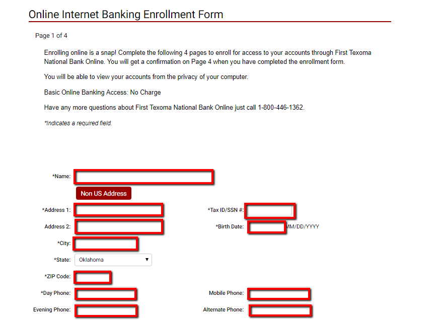 how to set up us bank account online
