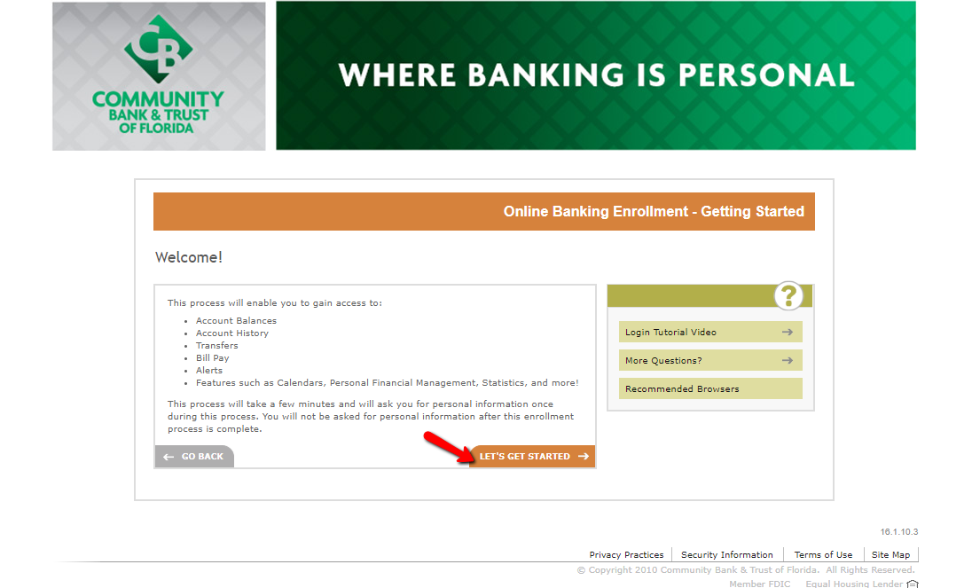 Community Bank and Trust of Florida Online Banking Login ...