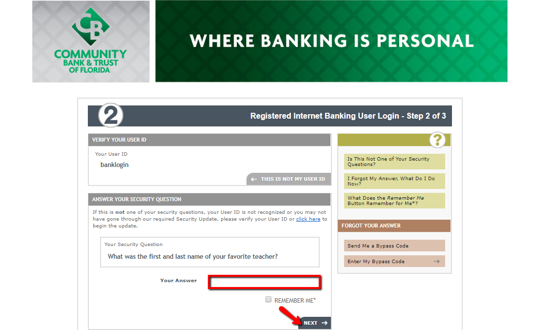 first security bank and trust login