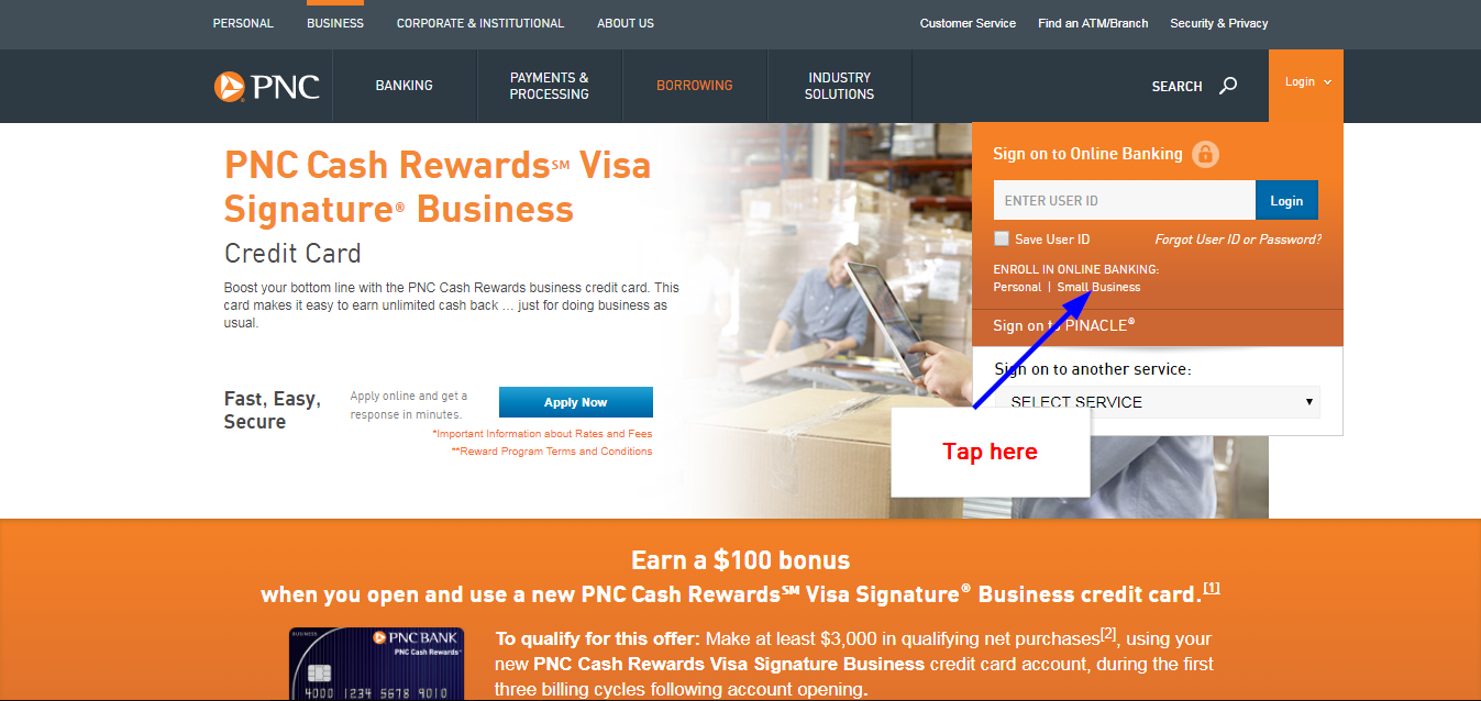 PNC Cash Rewards Visa Signature Business Online Login - 🌎 CC Bank