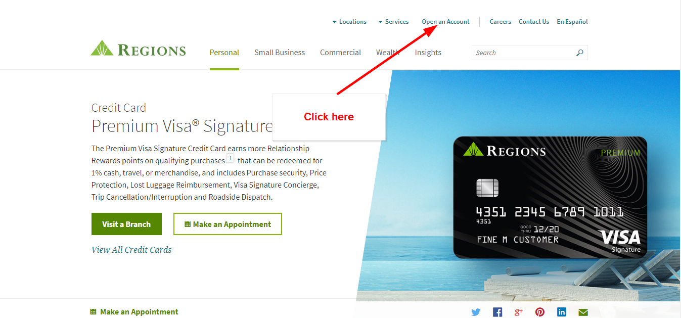 Regions Premium Visa Signature Credit Card Online Login - 🌎 CC Bank