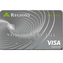 Regions Prestige Visa Signature Credit Card Online Login