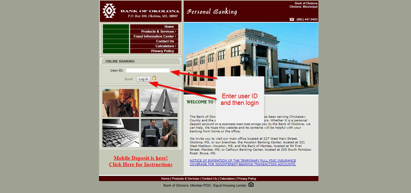 Bank of Okolona Online Banking Login - 🌎 CC Bank