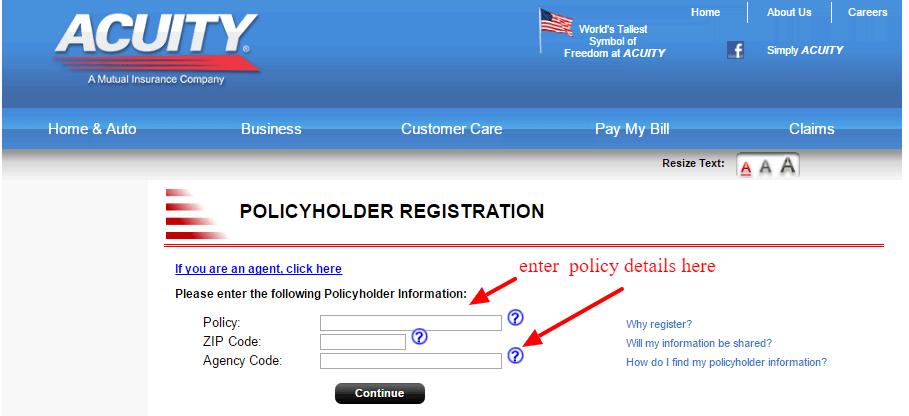 Acuity Insurance Online Login - CC Bank