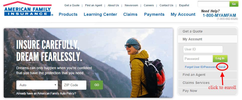 American-Family-Insurance-enroll online