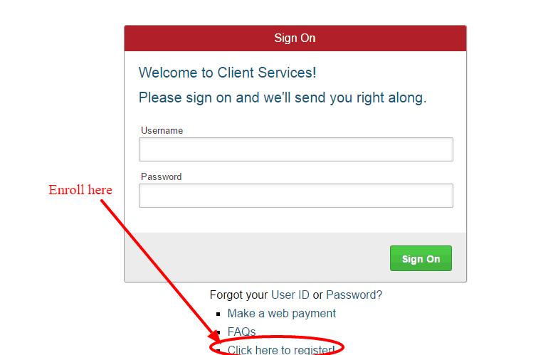 American User-Registration