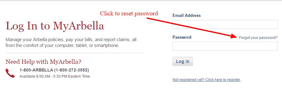 Arbella Pass-reset