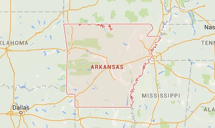 Arkansas Map