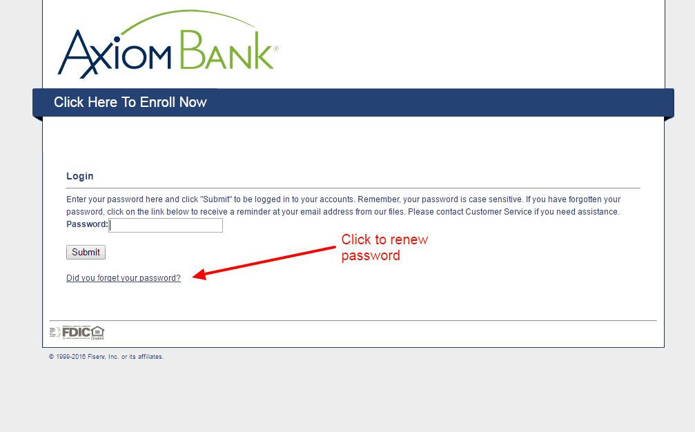 Axiom Bank renew