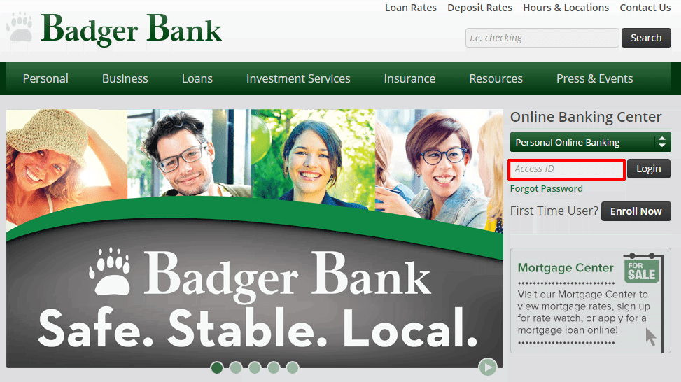 Badger Bank Login