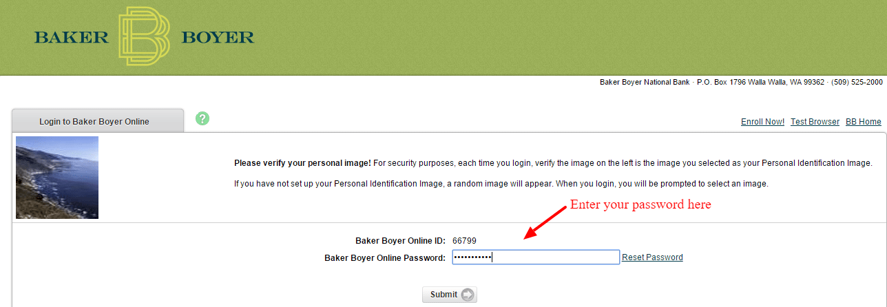 Baker Boyer Account Login