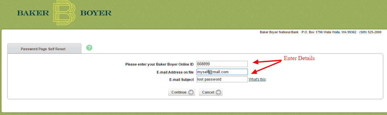 Baker Boyer Password2