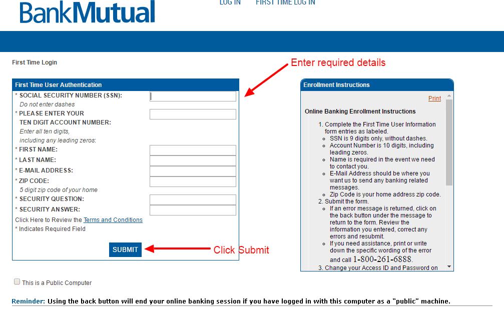 BankMutual enroll 2