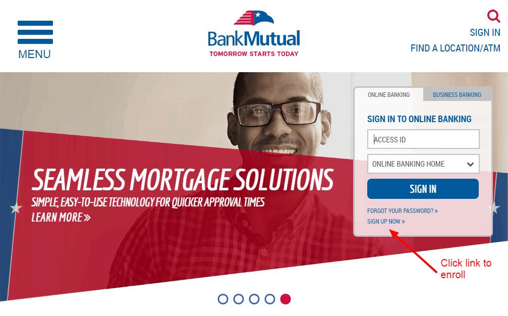 BankMutual enroll