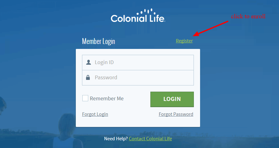 Colonial Life registration