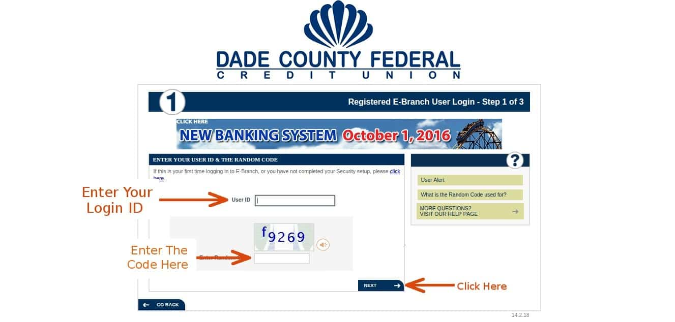 Dadecounty login3