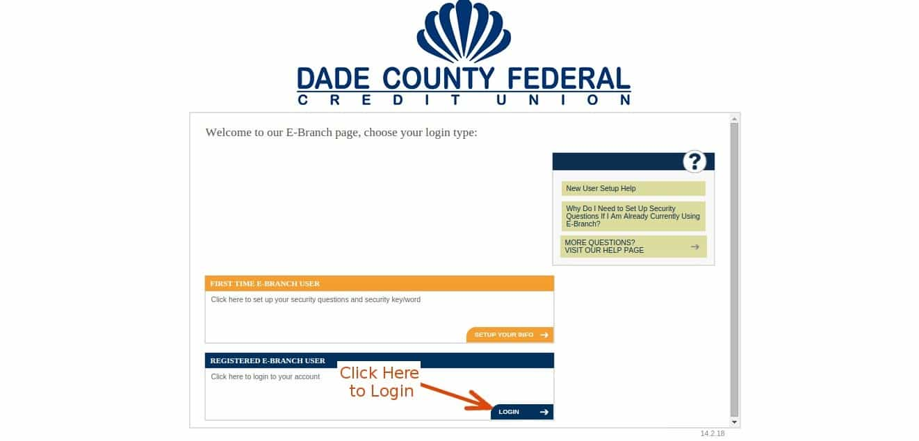 Dadecouonty login2
