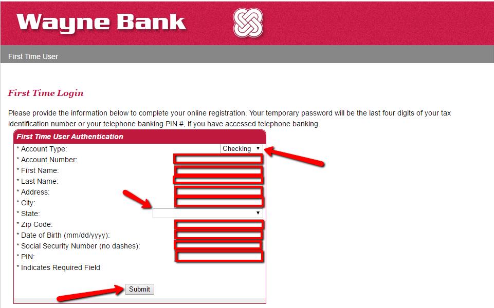 Wayne Bank Online Banking Login - 🌎 CC Bank