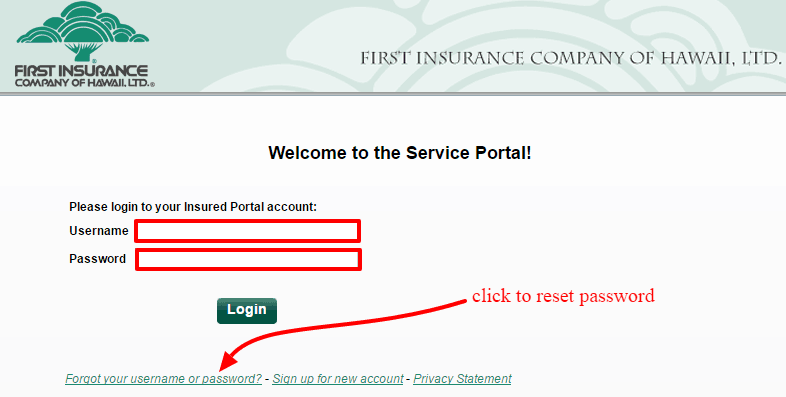 FICOH reset password
