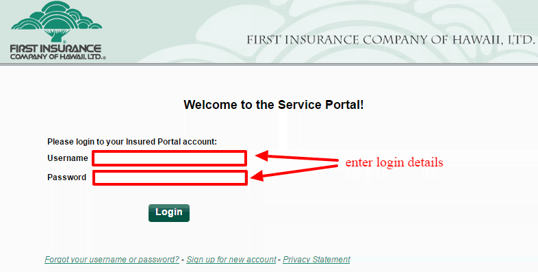 Ficoh insurance login