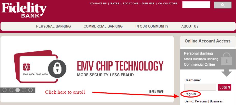Fidelity Bank Enroll