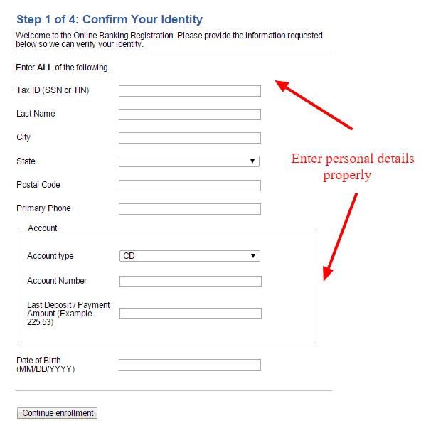 Fidelity Bank Online Banking Enrollment
