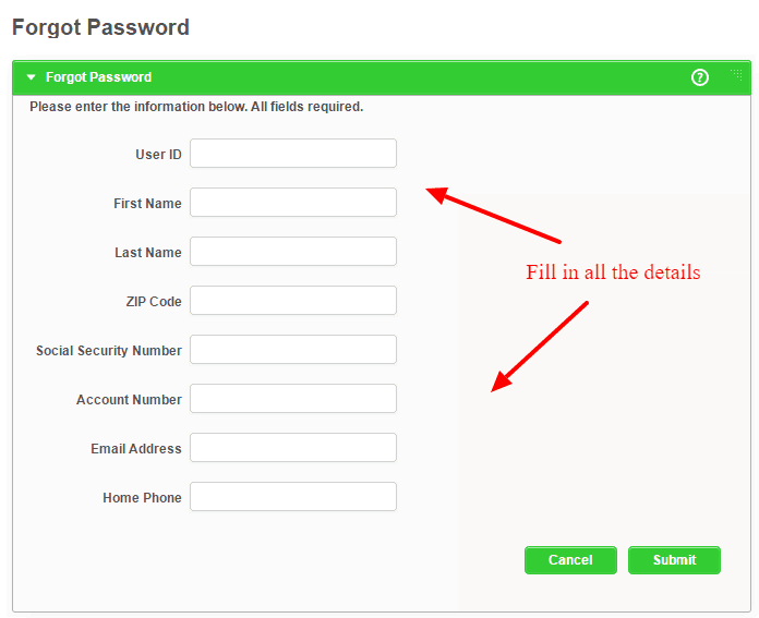 Forgot Password Everett Co operative Bank