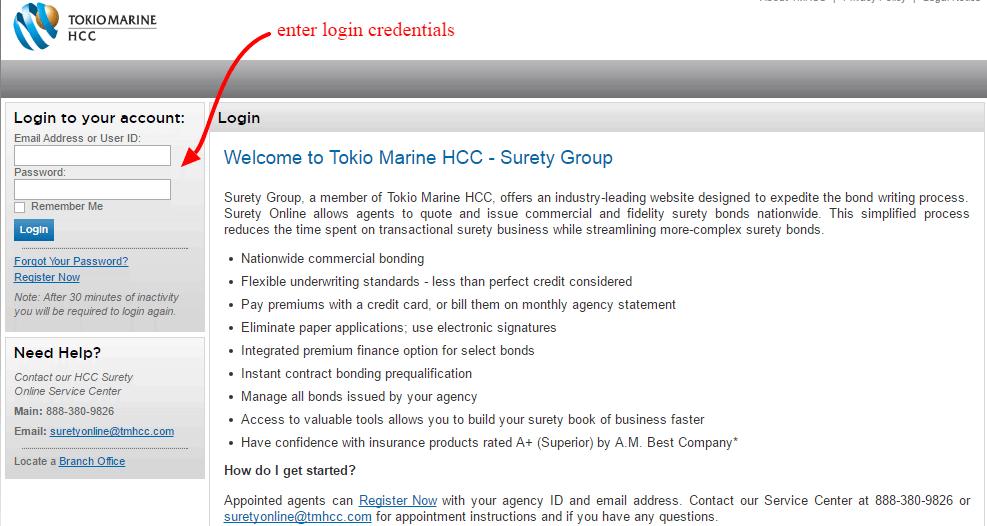 HCC Online Login