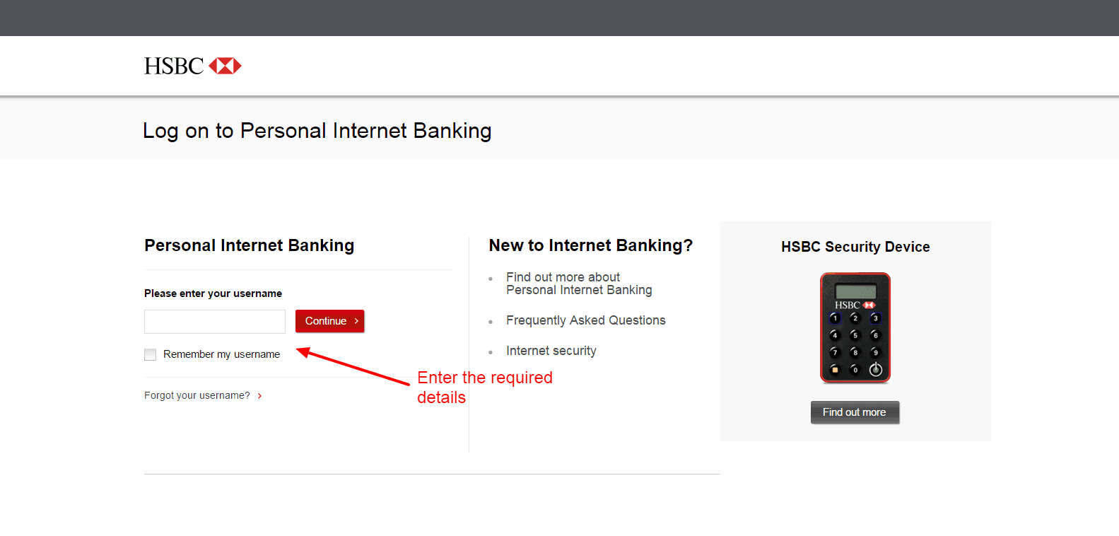 Hsbc Log On