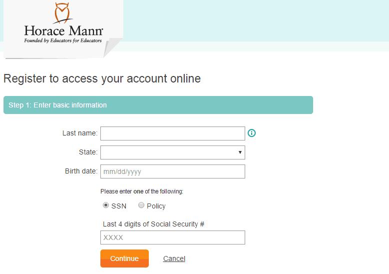 Horace Mann Insurance Register