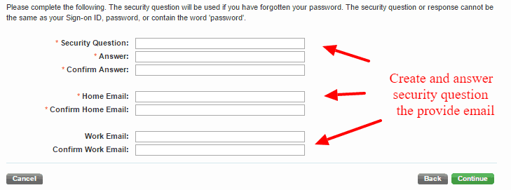 ICCU Bank Security Question and Email