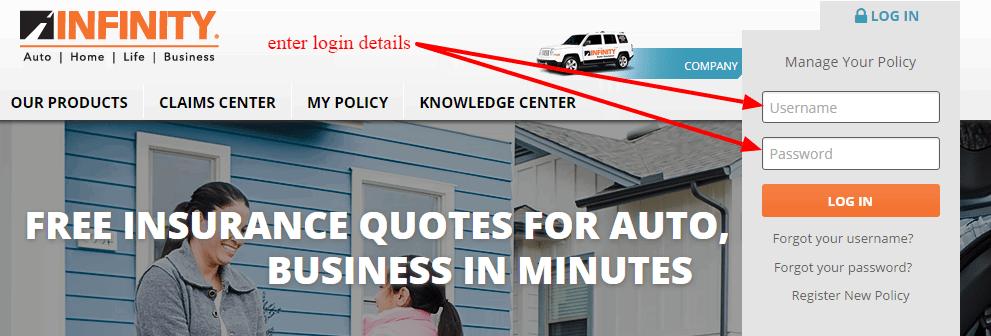 infinity customer free providers insurance arizona logo california auto service quotes